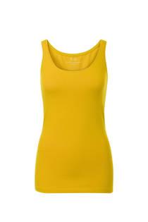 Miss Etam Regulier singlet met ronde hals geel (dames)
