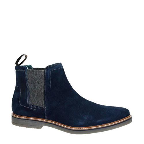 Bugatti su??de chelsea boots marine