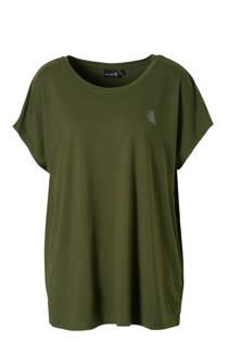 ACTIVE By Zizzi sport T-shirt groen (dames)