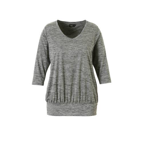 ACTIVE By Zizzi sport T-shirt grijs melange kopen