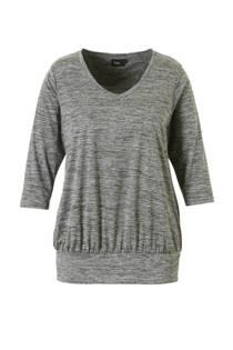 ACTIVE By Zizzi sport T-shirt grijs melange (dames)