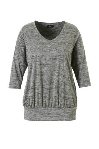 sport T-shirt grijs melange