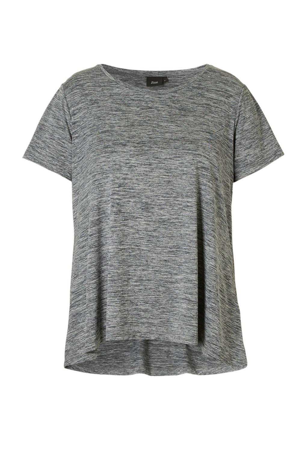ACTIVE By Zizzi sport T-shirt grijs, Grijs