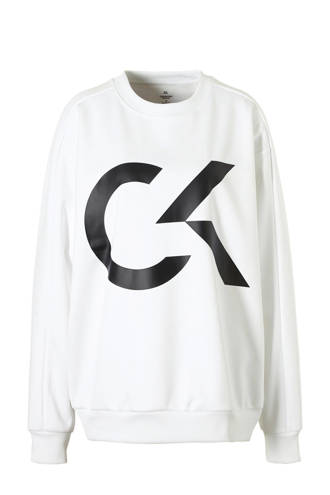 Performance oversized sweater wit