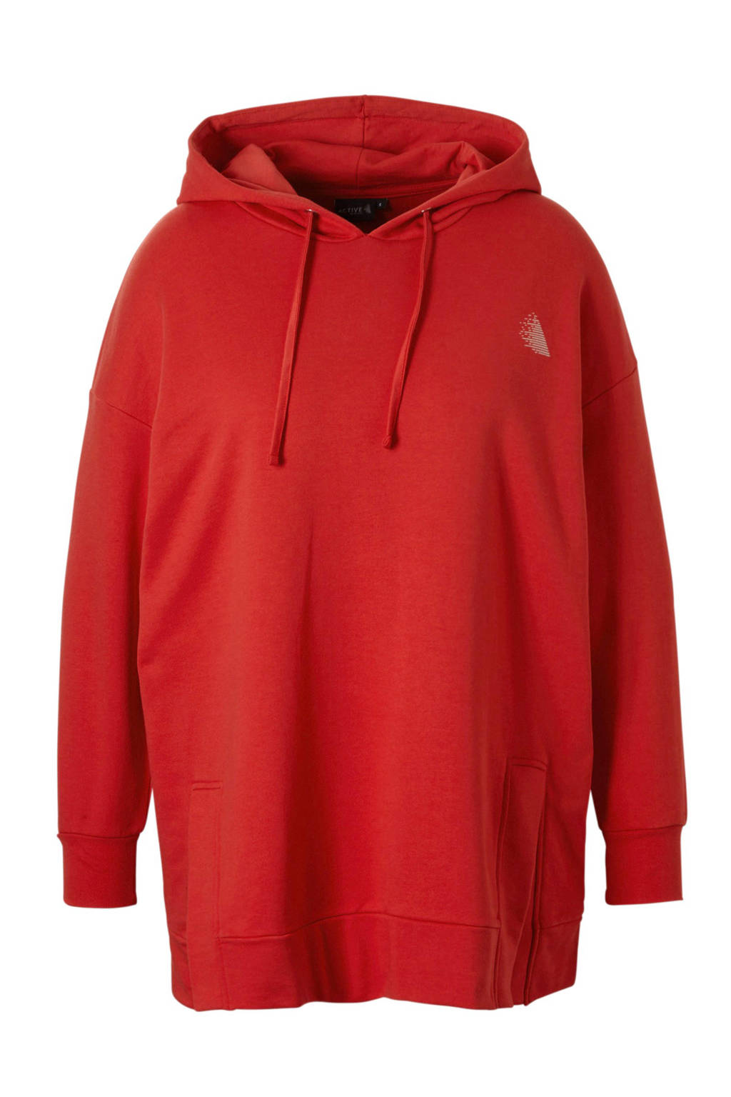 ACTIVE By Zizzi sporthoodie rood, Rood