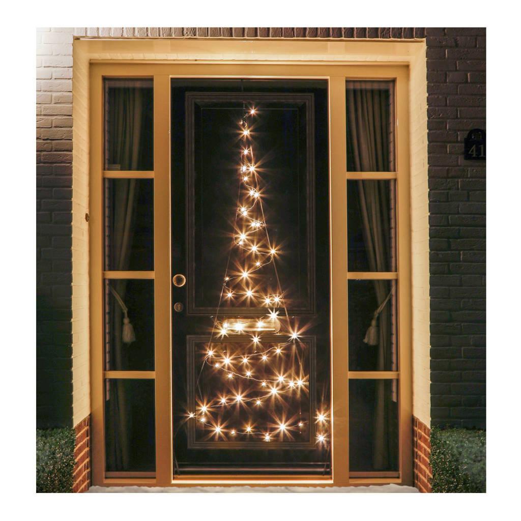 Fairybell deurboom (60 LED's), Zwart