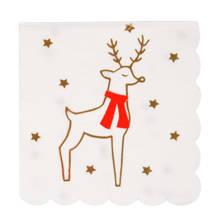 papieren servet kerst (set van 16)