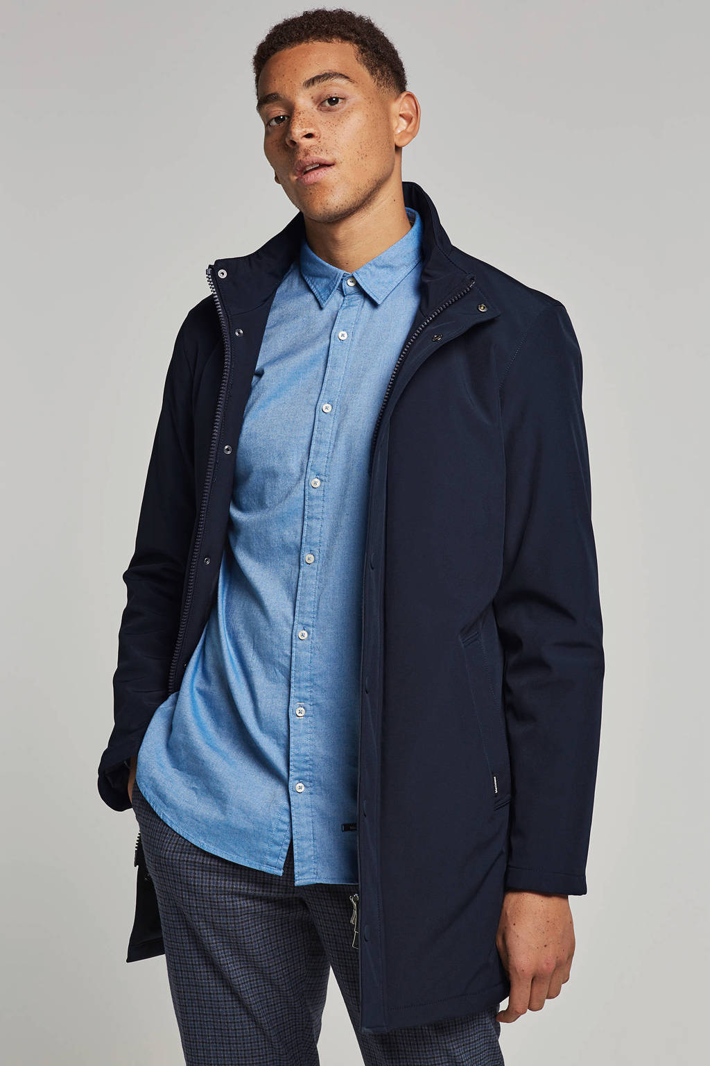 Matinique jas, Donkerblauw