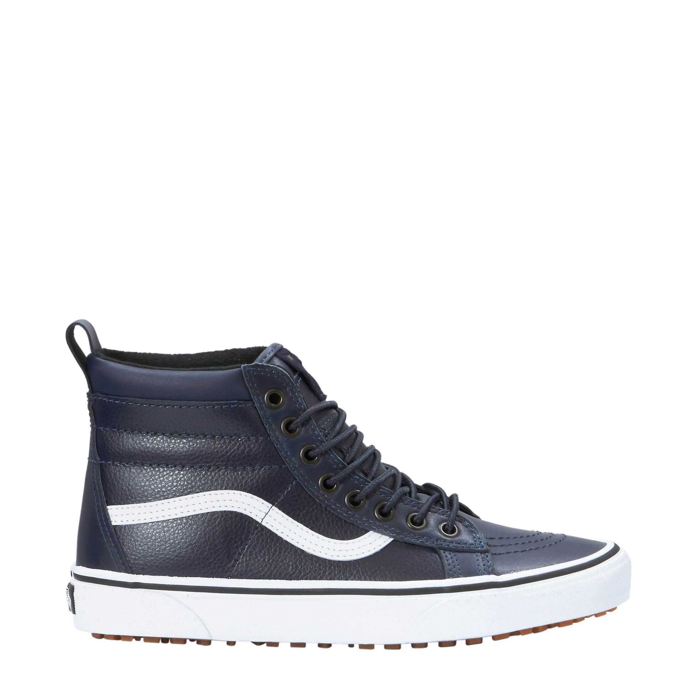 Sk8-Hi MTE leren sneakers donkerblauw