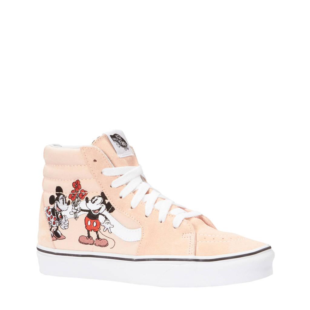 235791238a VANS Sk8-Hi sneakers met borduursel lichtroze