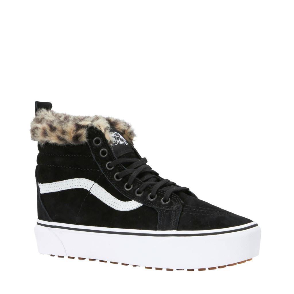 e28a55e4a59 VANS Sk8-Hi Platform MTE suède sneakers zwart | wehkamp