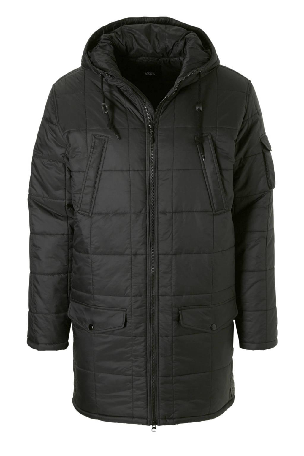 VANS   jas zwart, Zwart