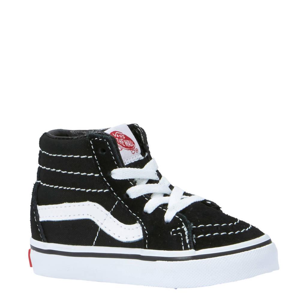 VANS   SK8- Hi sneakers zwart, Zwart