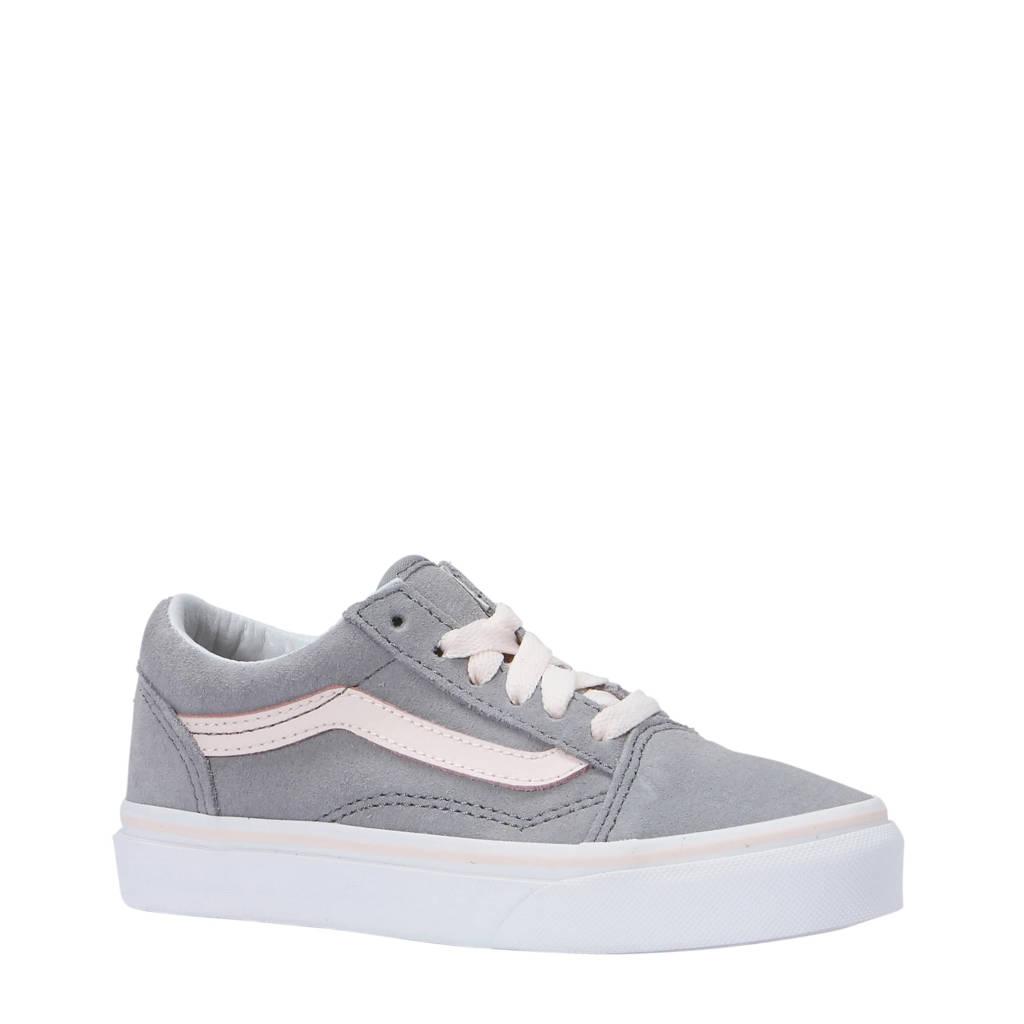 84647bb3571 VANS Old Skool suède sneakers grijs/lichtroze, Grijs/lichtroze