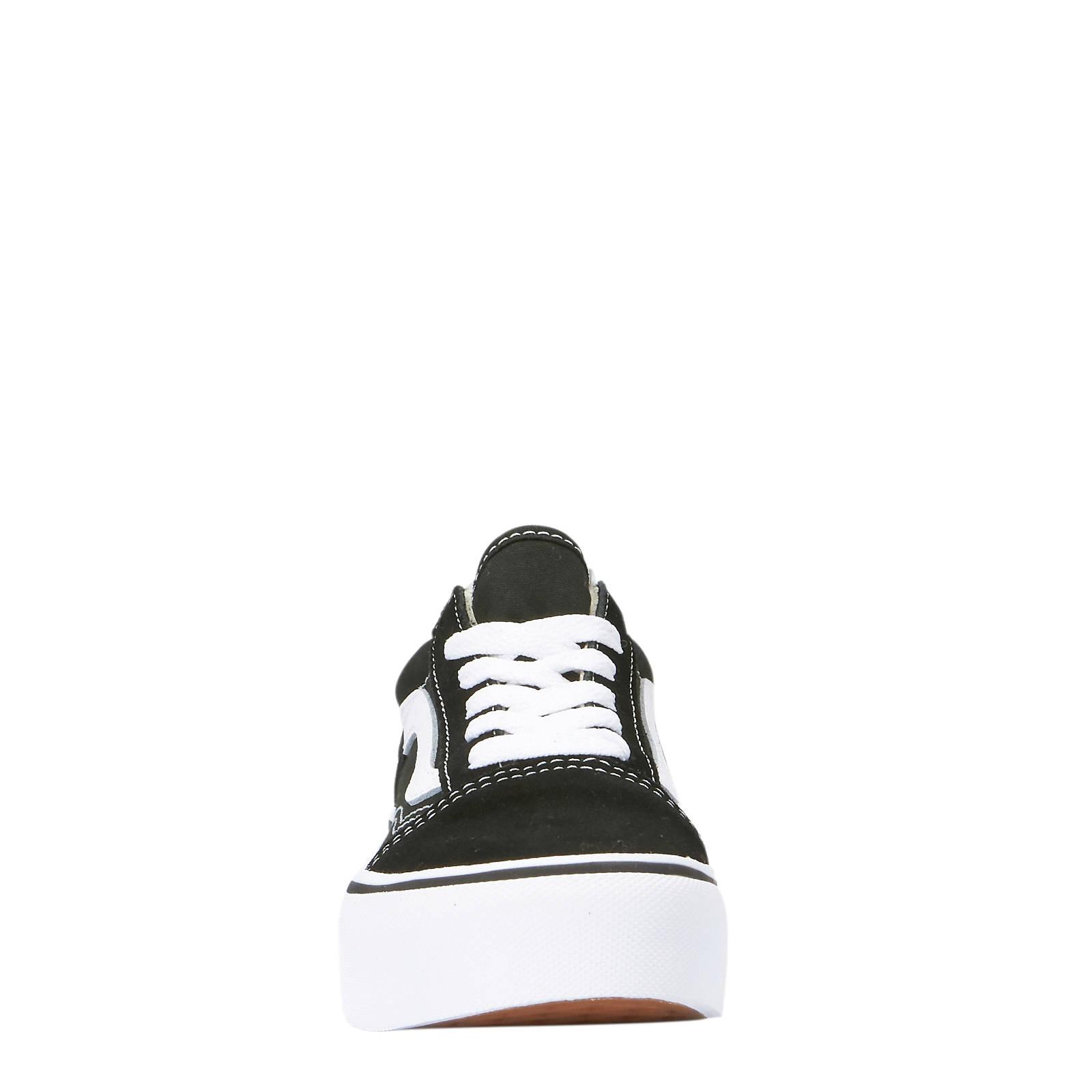 b588b75030 VANS Old Skool Platform sneakers zwart wit