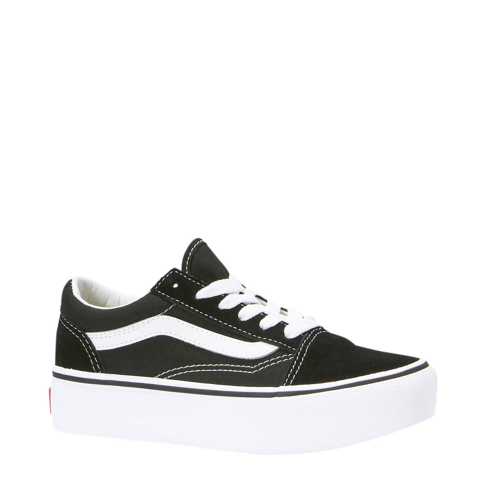 Old Skool Platform sneakers zwart/wit