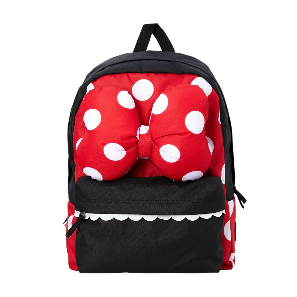 VANS Disney rugzak rood/zwart, Rood/zwart