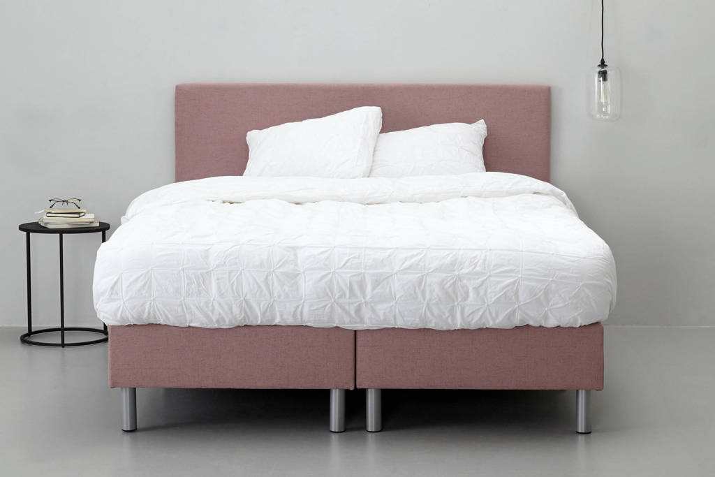 whkmp's own complete boxspring Zurich (140x200 cm), Oudroze