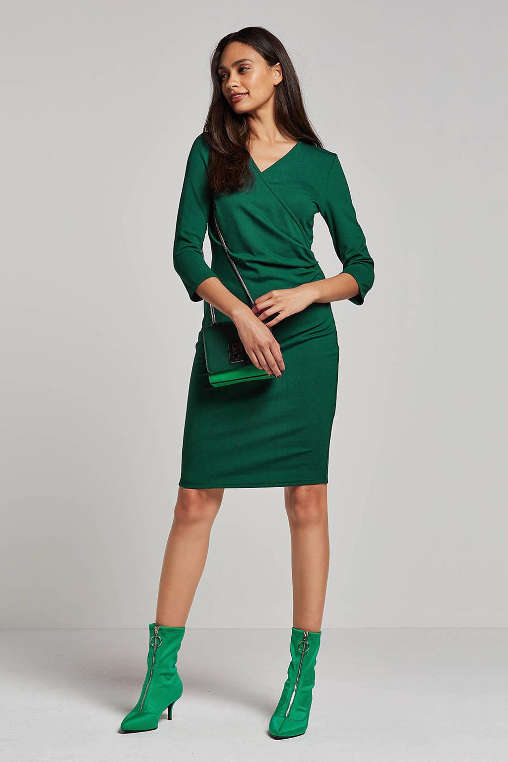 whkmp's own jurk met overslag, Smaragdgroen