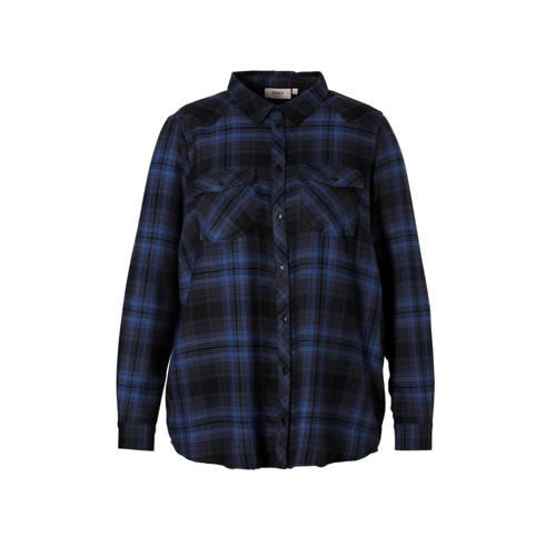 ONLY carmakoma blouse geruit, Dames blouse van het merk ONLY Carmakoma, uitgevoerd in een zachte kwaliteit. Het model is voorzien van een blousekraag, lange mouwen, een knoopsluiting en twee klepzakken met knoop aan de voorkant.Extra gegevens:Merk: ONLY carmakomaKleur: BlauwModel: Blouse (Dames)Voorraad: 2Verzendkosten: 0.00Plaatje: Fig1Maat/Maten: 46Levertijd: direct leverbaarAantal reviews: 1Gemiddelde rating: 3.00Aanbiedingoude prijs: € 49.99