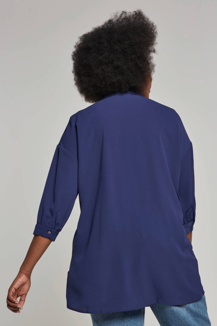 ONLY carmakoma carmakoma blauw ONLY blouse ZzzPgn8