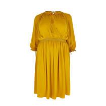 product afbeelding River Island Plus jurk met overslagdetail