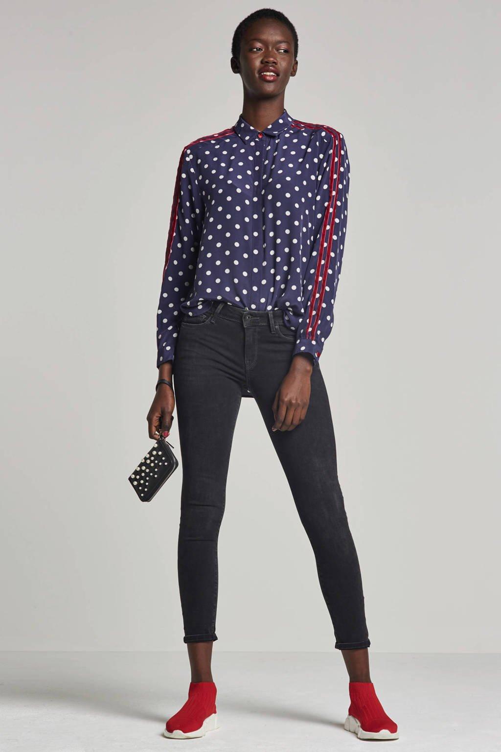 Pepe Jeans Lola super skinny fit jeans, Zwart
