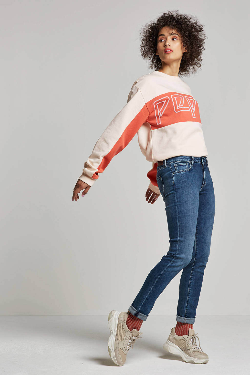 Pepe Jeans Lucy slim fit jeans, Blauw