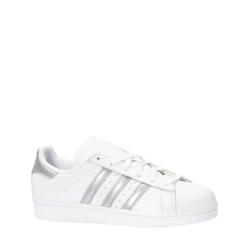 Superstar W sneakers wit-zilver