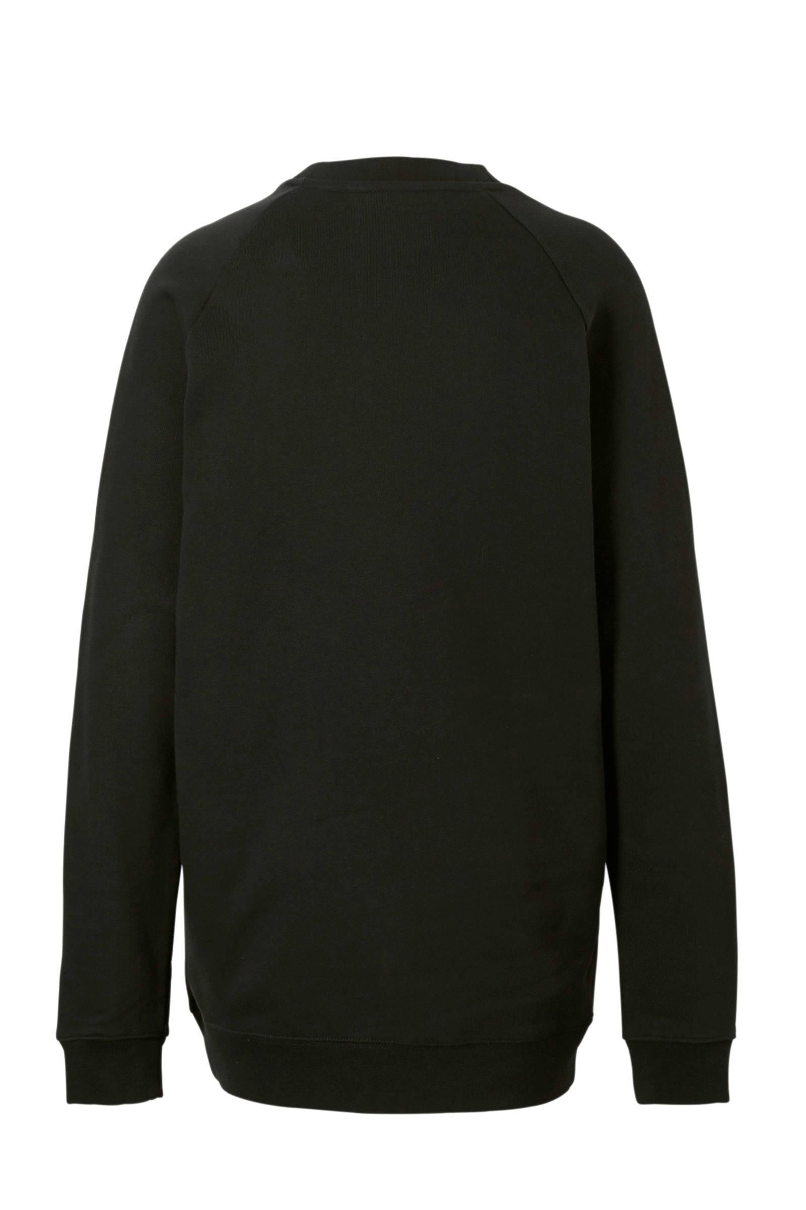 oversized trui zwart dames