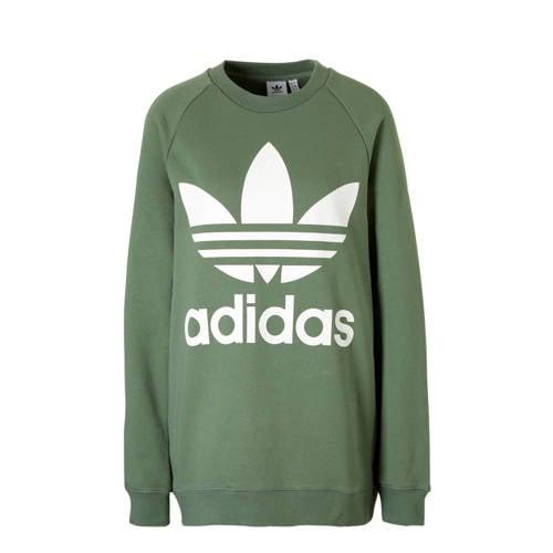 oversized sweater groen