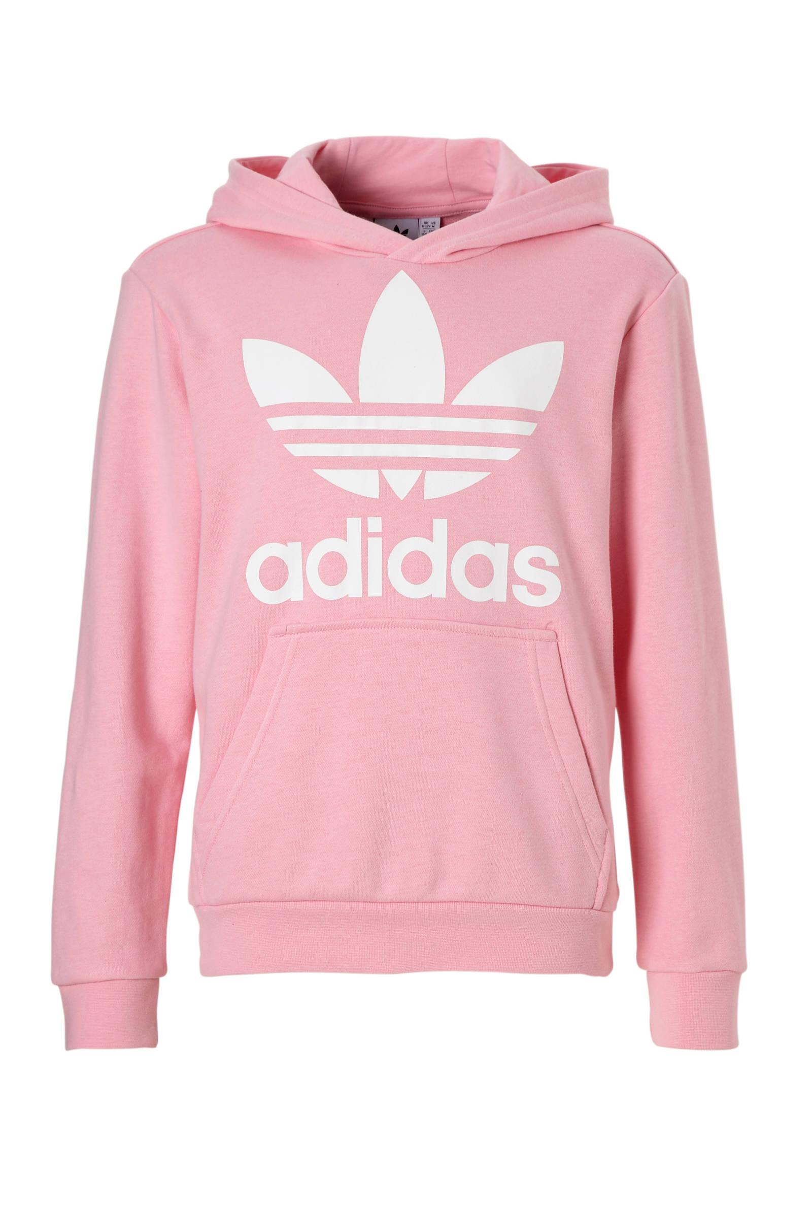 adidas Originals hoodie roze | wehkamp