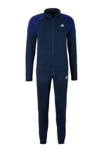 adidas performance   trainingspak donkerblauw (heren)