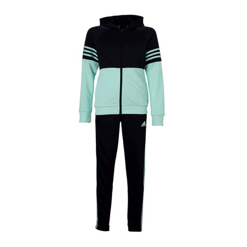 Adidas Gym trainingspak voor meisjes blauw