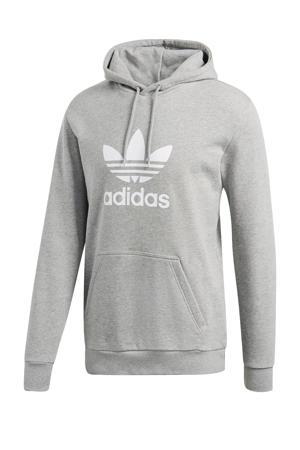 Adicolor hoodie lichtgrijs