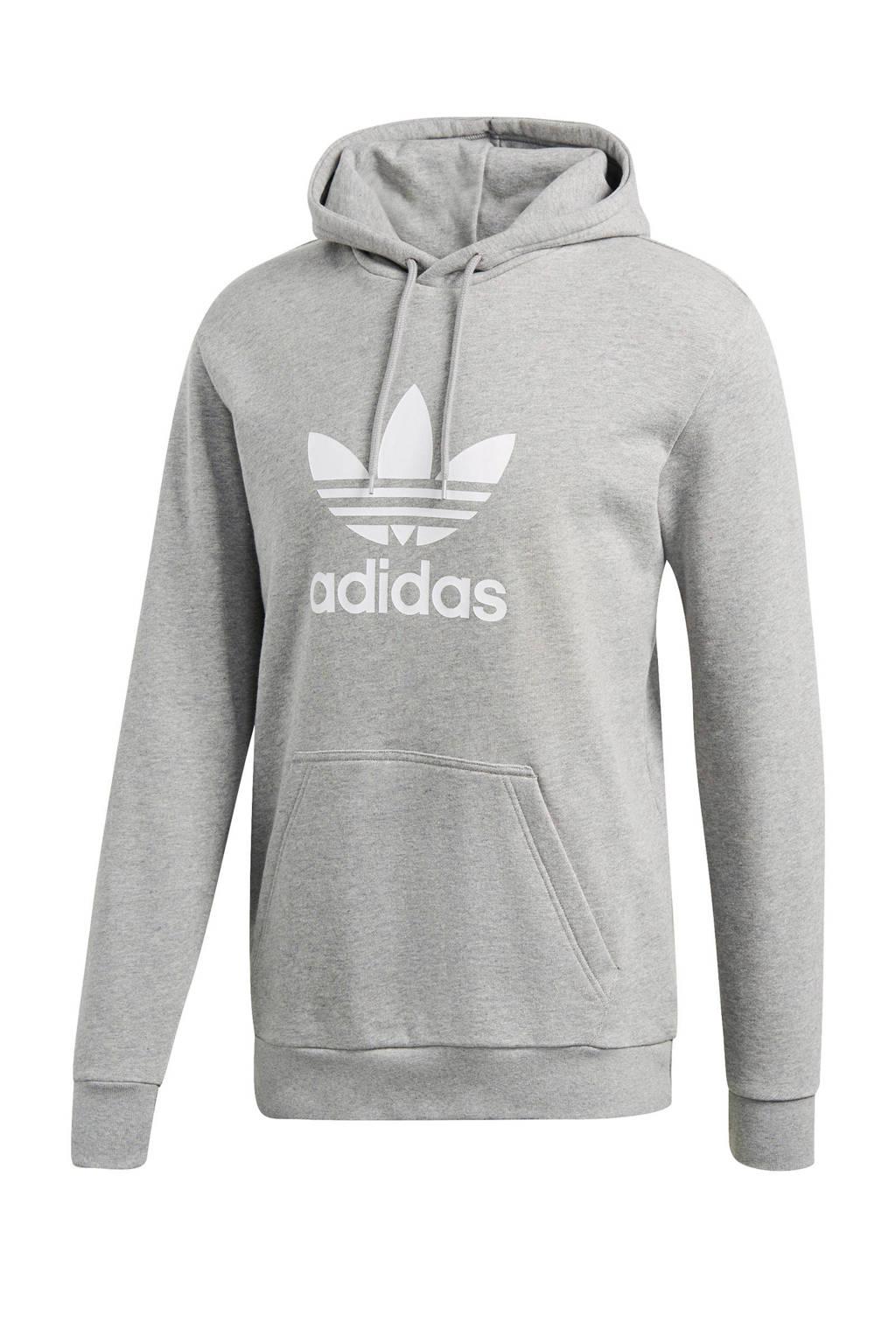 7672798cb61 adidas originals hoodie lichtgrijs, Lichtgrijs