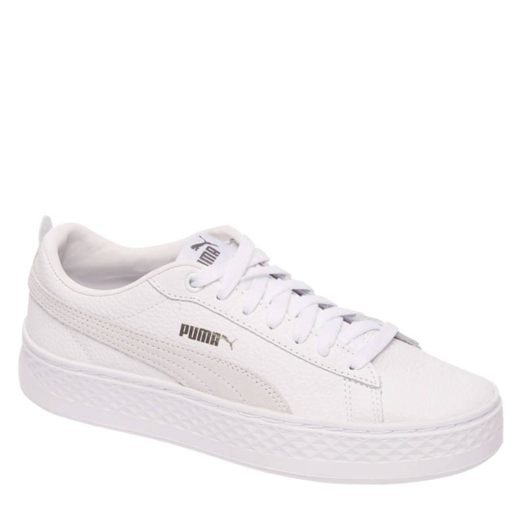 Puma  Smash Platform sneakers wit, Wit