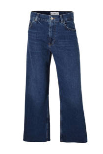 Mango cropped relaxed fit jeans (dames)