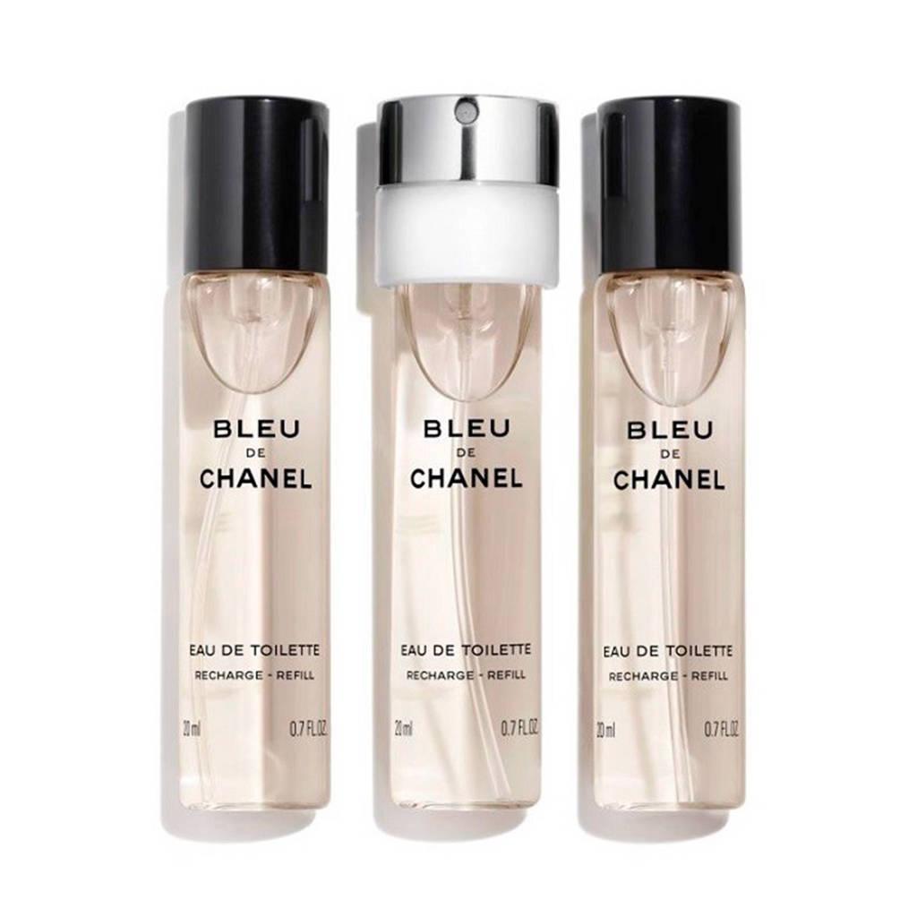 Chanel Bleu de Chanel eau de toilette navullingen Twist & Spray -