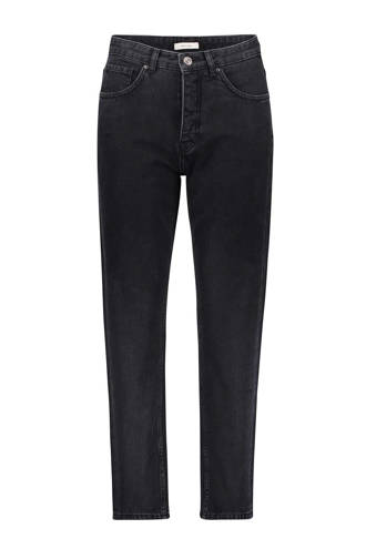 cropped jeans loose fit zwart