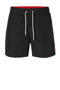 POLO Ralph Lauren zwemshort met geborduurd logo zwart, Zwart