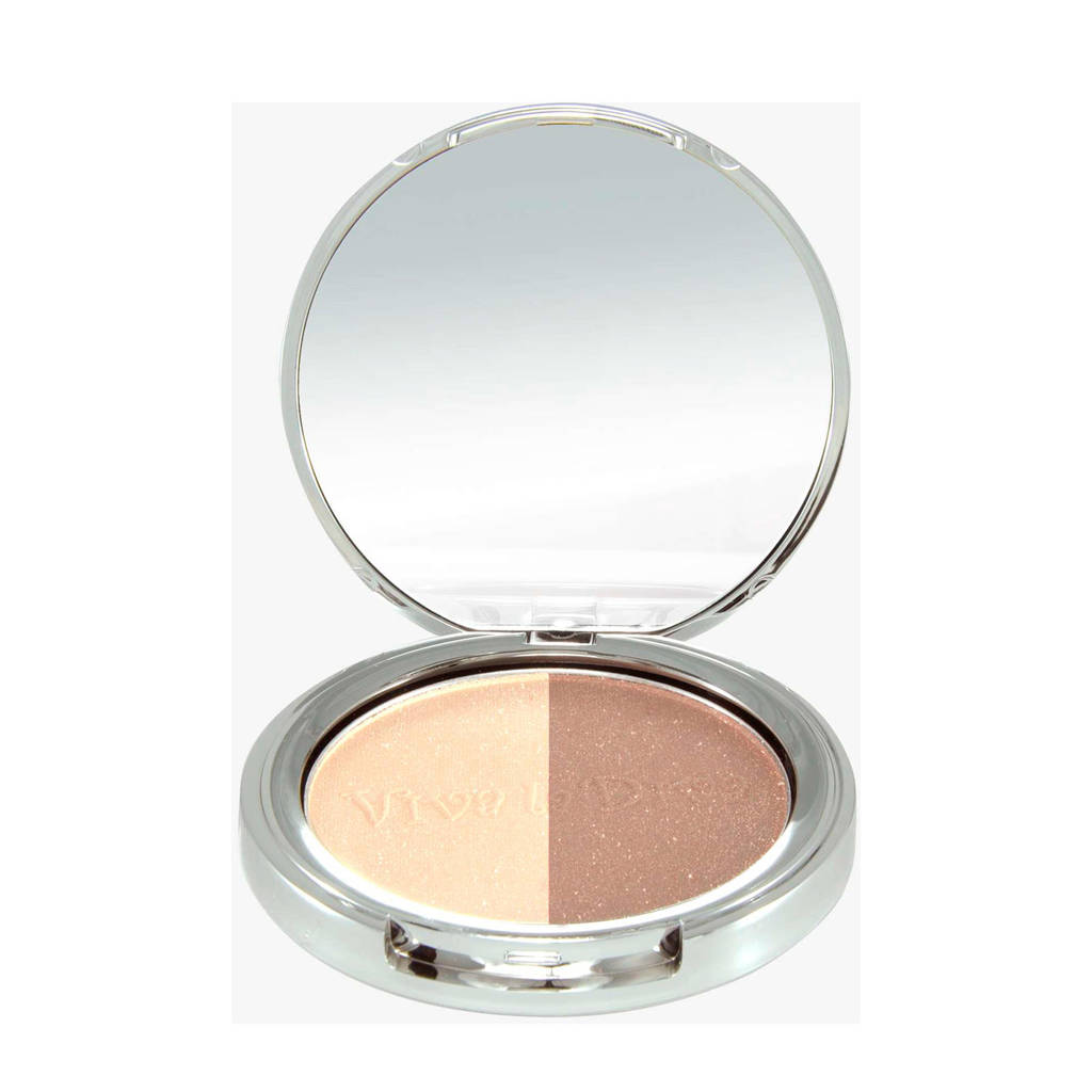 Viva la Diva Duo highlighter - Warm Gold