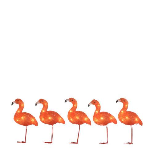 Konstsmide lichtsnoer flamingo (8 lampen) kopen