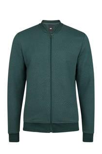 WE Fashion bombervest groen (heren)