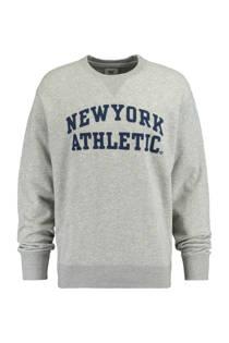 America Today  sweater Skip grijs (heren)