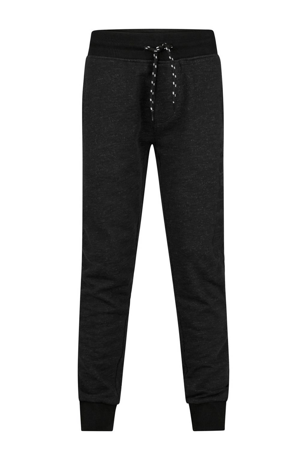 WE Fashion Blue Ridge   sweatpants zwart, Zwart
