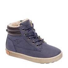 Bobbi-Shoes imitatieleren enkelboot blauw