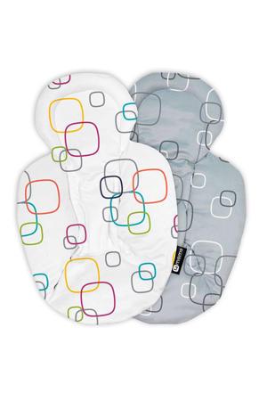 Snug reversible stoelverkleiner newborn multicolor/grijs
