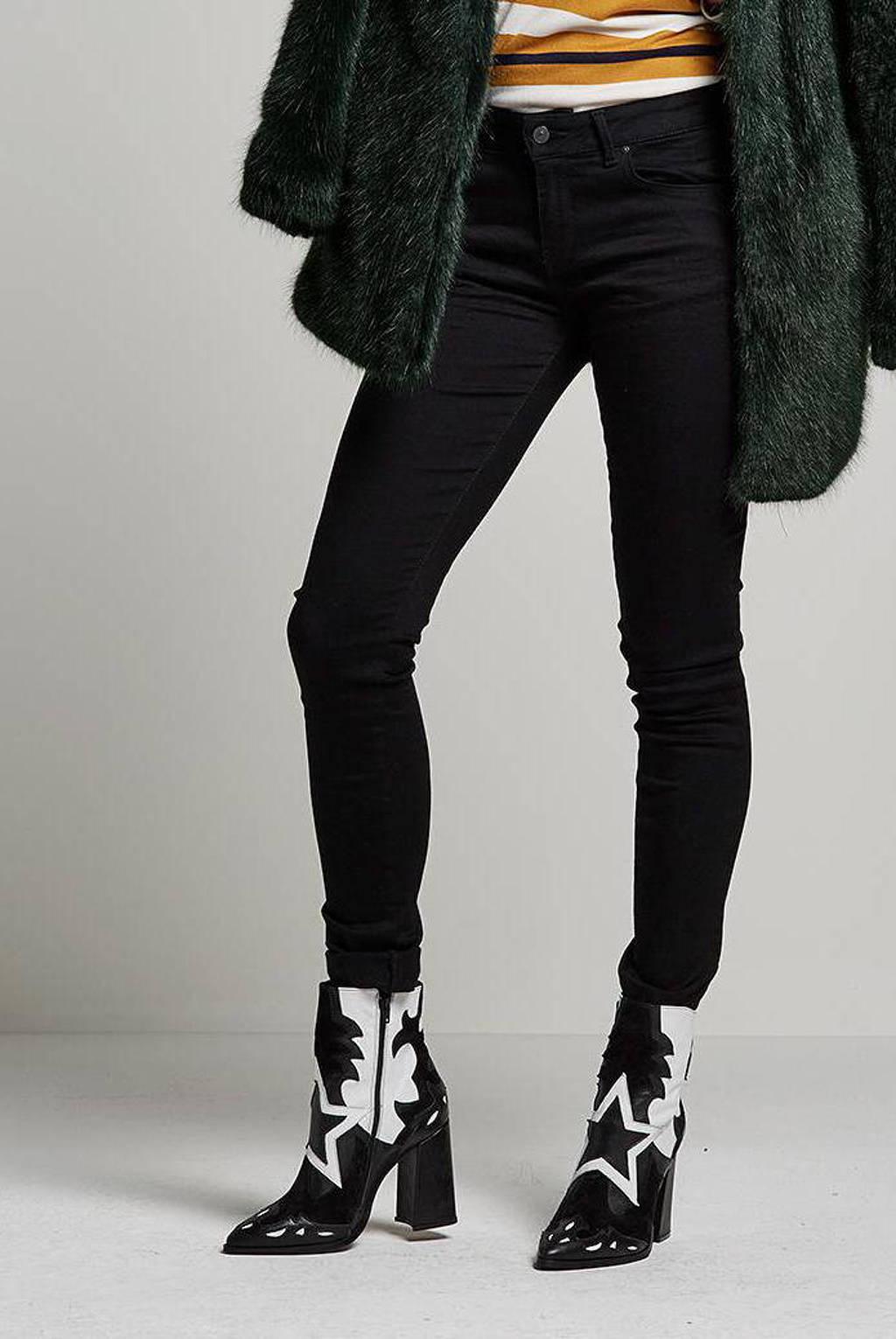 LTB high waist slim fit jeans zwart, 200 Black 200 C.O.