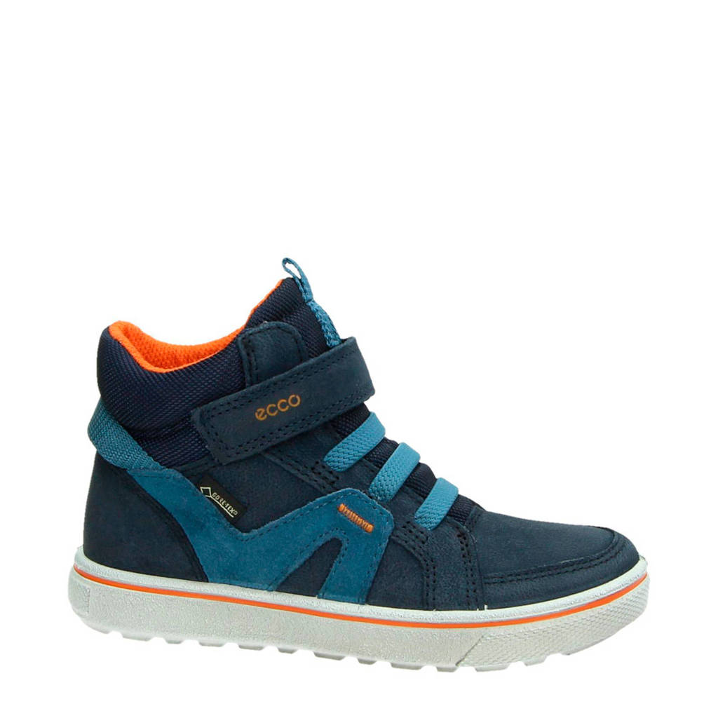 Ecco  suède sneakers Glyder blauw, Donkerblauw